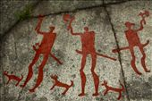Men and Dogs, Tanum Rock Art WHS: by vagabonds, Views[991]