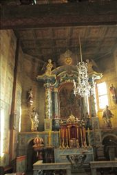 Interior of Wooden Church of All Saints, Bilzne: by vagabonds, Views[340]