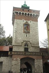 Florian Gate, Krakow: by vagabonds, Views[434]