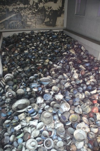 Confiscated pots and pans