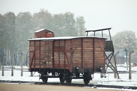 Actual railcar that carried the doomed