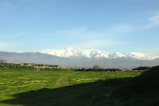 Tajik countryside