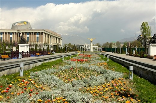 Springtime in Dushanbe