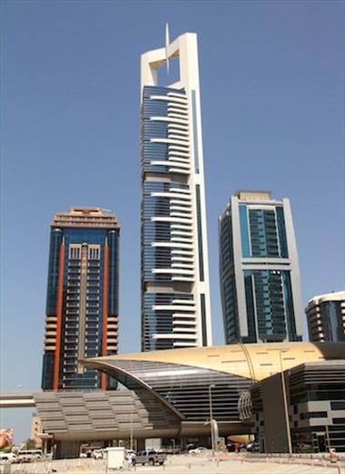 Metro station, Dubai