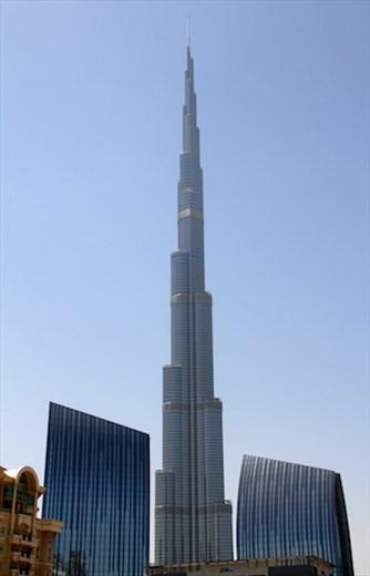 Burj Khalifa, world's tallest building, Dubai