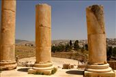 Oval Plaza from Temple of Zeus, Jerash: by vagabonds3, Views[93]