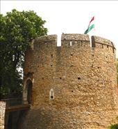 Barbican and Hungarian flag, Pecs: by vagabonds3, Views[183]