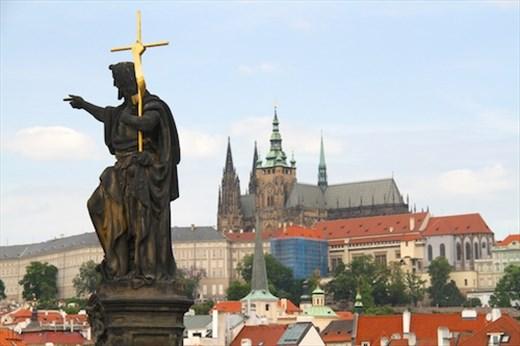 From Charles Bridge, Prague