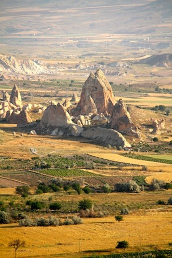 Cappadocia from the air