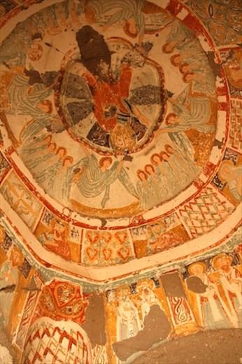 Church frescoes, Ihlara