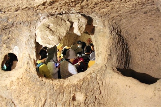 Kaymakli Underground City is no place for tour groups