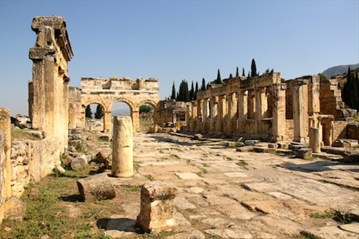 Frontinus Street, Hierapolis