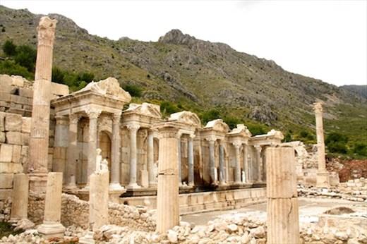 Antonine Nyphaeum, Sagalossos
