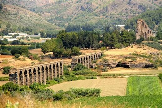 Aqueduct, Aspendos
