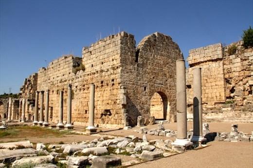 Roman Baths, Perge