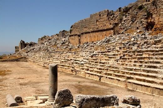 Roman stadium, Tlos