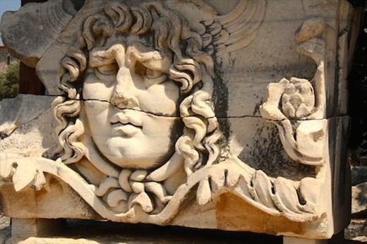 Medusa, Temple of Apollo, Didyma