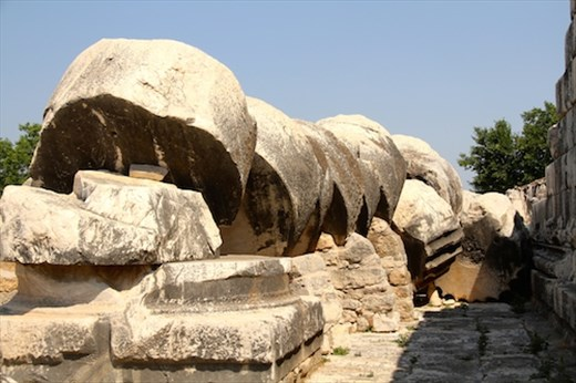 . . . must come down, Temple of Apollo, Didyma