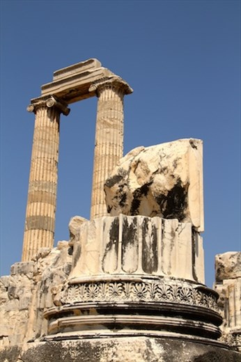 Pediment details, Temple of Apollo, Didyma