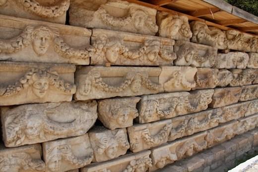Stone carvings, Aphrodisias