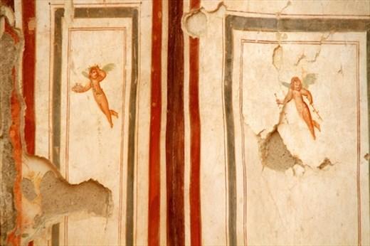 Colorful frescoes, Terrace Houses, Ephesus