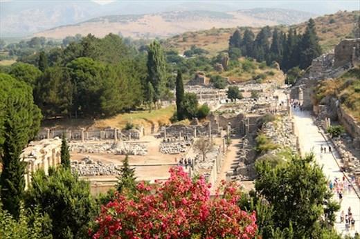 Ephesus from on high
