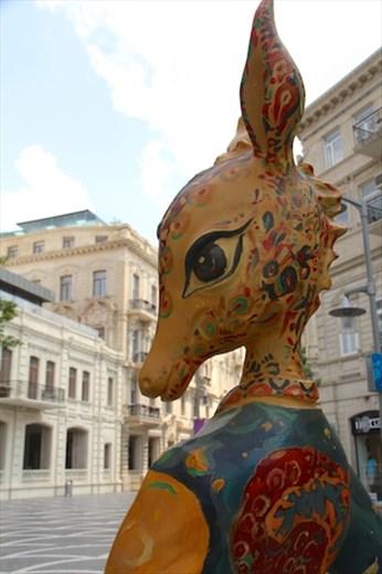 Jeyran, symbol of Baku