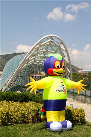 Youth Games mascot