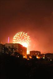 Sunday night fireworks, Yerevan: by vagabonds3, Views[161]