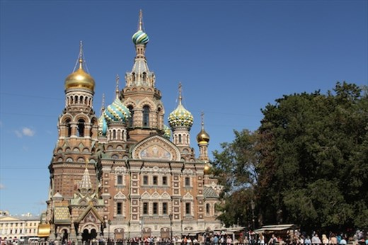 Cathedral of Our Savior on the Spilled Blood, St. Petersburg