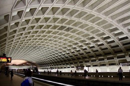 Underground in the DC Metro