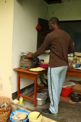 The kitchen, Campo Ma'an