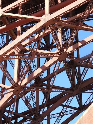 Golden Gate girders