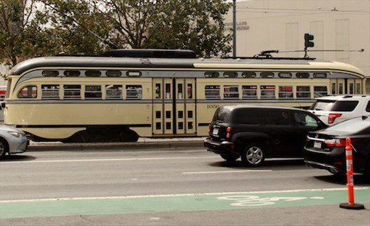 SF trollies come from around the country