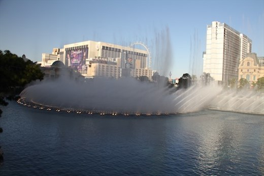 Fountain at Bellagio, Las Vegas
