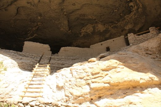 Shoots and Ladders, Gila Cliff Dwellings NM