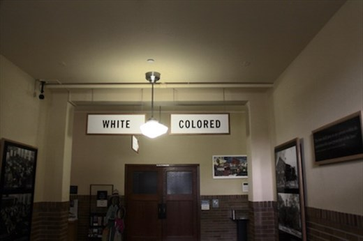 Separate but not equal, Brown v. Bd. of Ed. National Historic Site, Topeka, KS