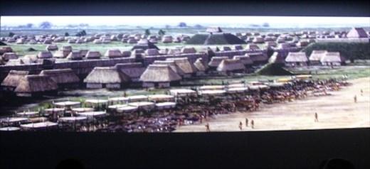 Cahokia Mounds WHS model