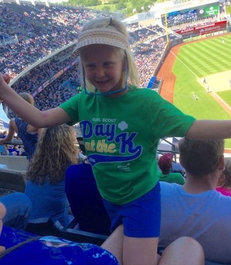 Girl Scout Day at the K, Kansas City