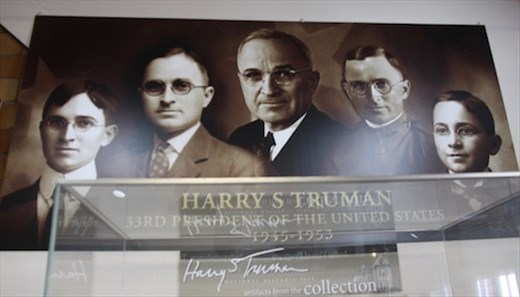Many faces of Harry Truman, Independence MO