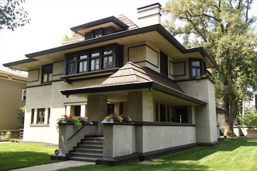 FLW Oak Park designed home