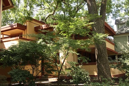 There goes the neighborhood, FLW Oak Park designed home