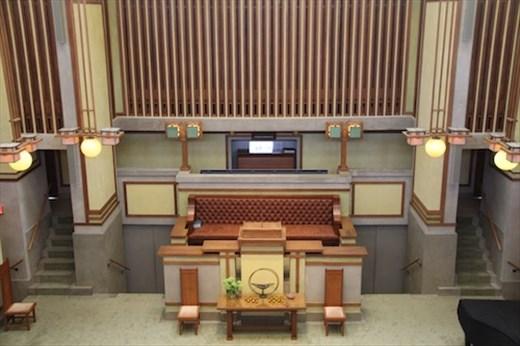 Chapel, Unity Temple, Oak Park IL