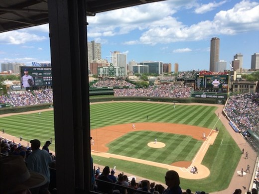 Seats with a (partial) view, Wrigley Field