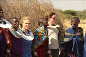 Andrea and Becky, the dancing queens,  Olpopongi Masai Village: by vagabonds3, Views[25]