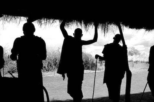 Masai Silhouette, Olpopongi