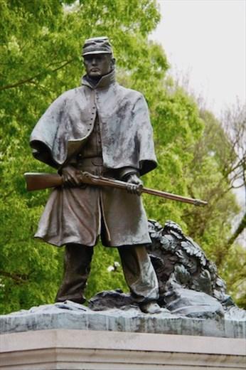 Civil War memorial statue, Vicksburg National Military Park