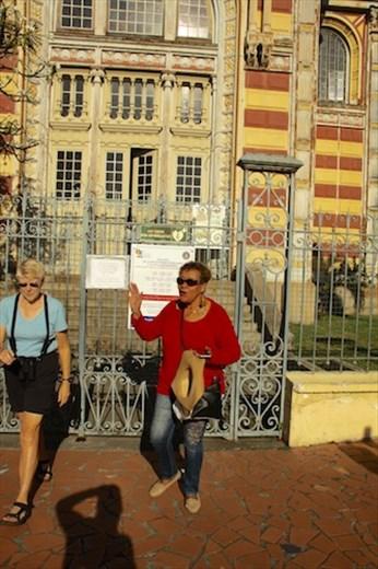 Milar points the way, Fort de France, Martiique