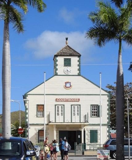 Courthouse, Phillipsburg, St. Maarten