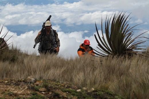 Dusan and Bernardino at 12,000 ft, Cerro Arcos